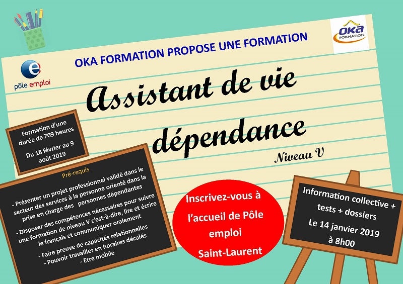formation assistant de vie