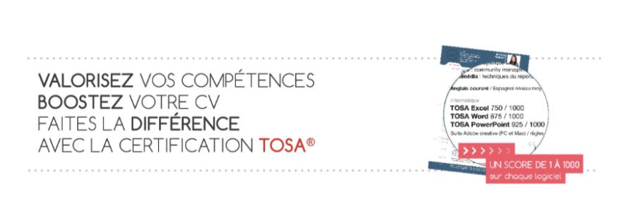 Boostez votre CV avec le TOSA