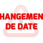 Changement de date